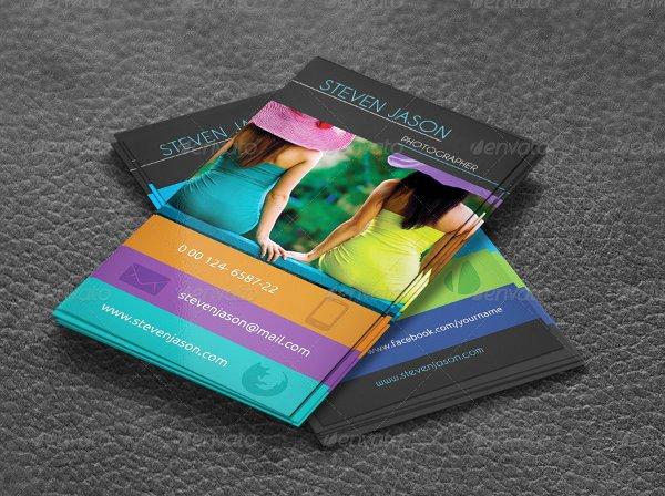 Social Media Business Cards Beautiful 13 social Media Business Card Templates Psd Word Ai
