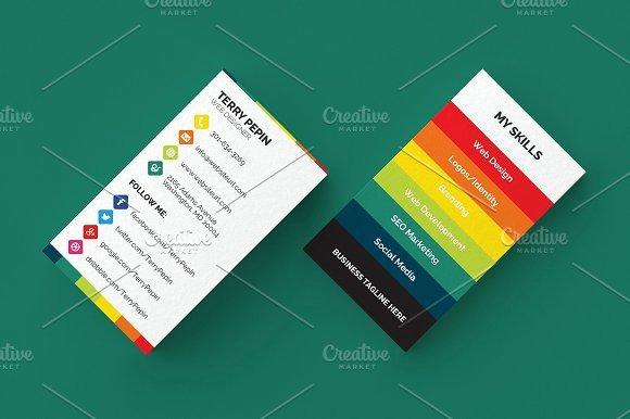 Social Media Business Cards Beautiful social Media Business Card 61 Business Card Templates On Creative Market