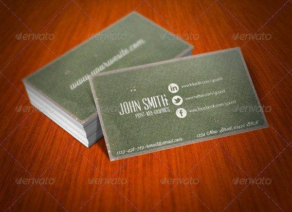 Social Media Business Cards Lovely 13 social Media Business Card Templates Psd Word Ai