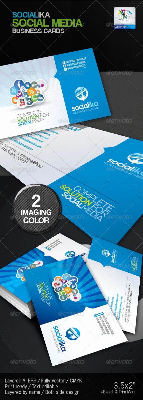 Social Media Business Cards Template Elegant 36 Best Images About Corporate Newsletters Email Blasts and Flyers On Pinterest