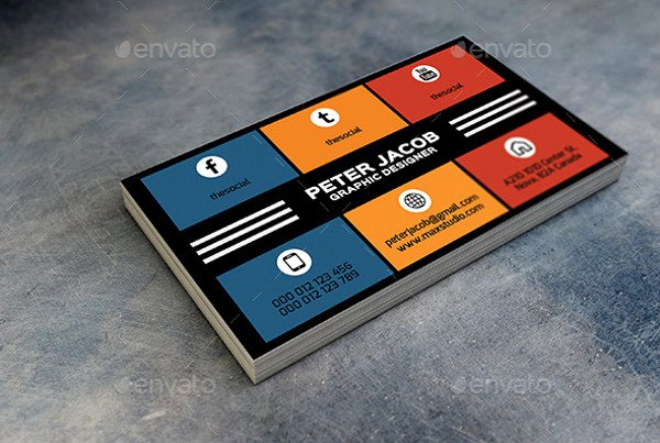 Social Media Business Cards Template Luxury Business Card with social Media – Emmamcintyrephotography