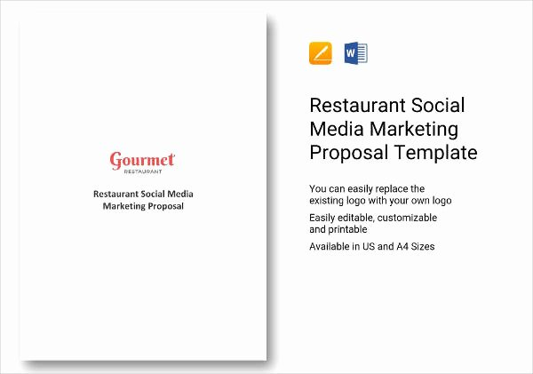 Social Media Marketing Proposal Pdf Fresh 13 Restaurant social Media Marketing Proposal Examples Pdf Word