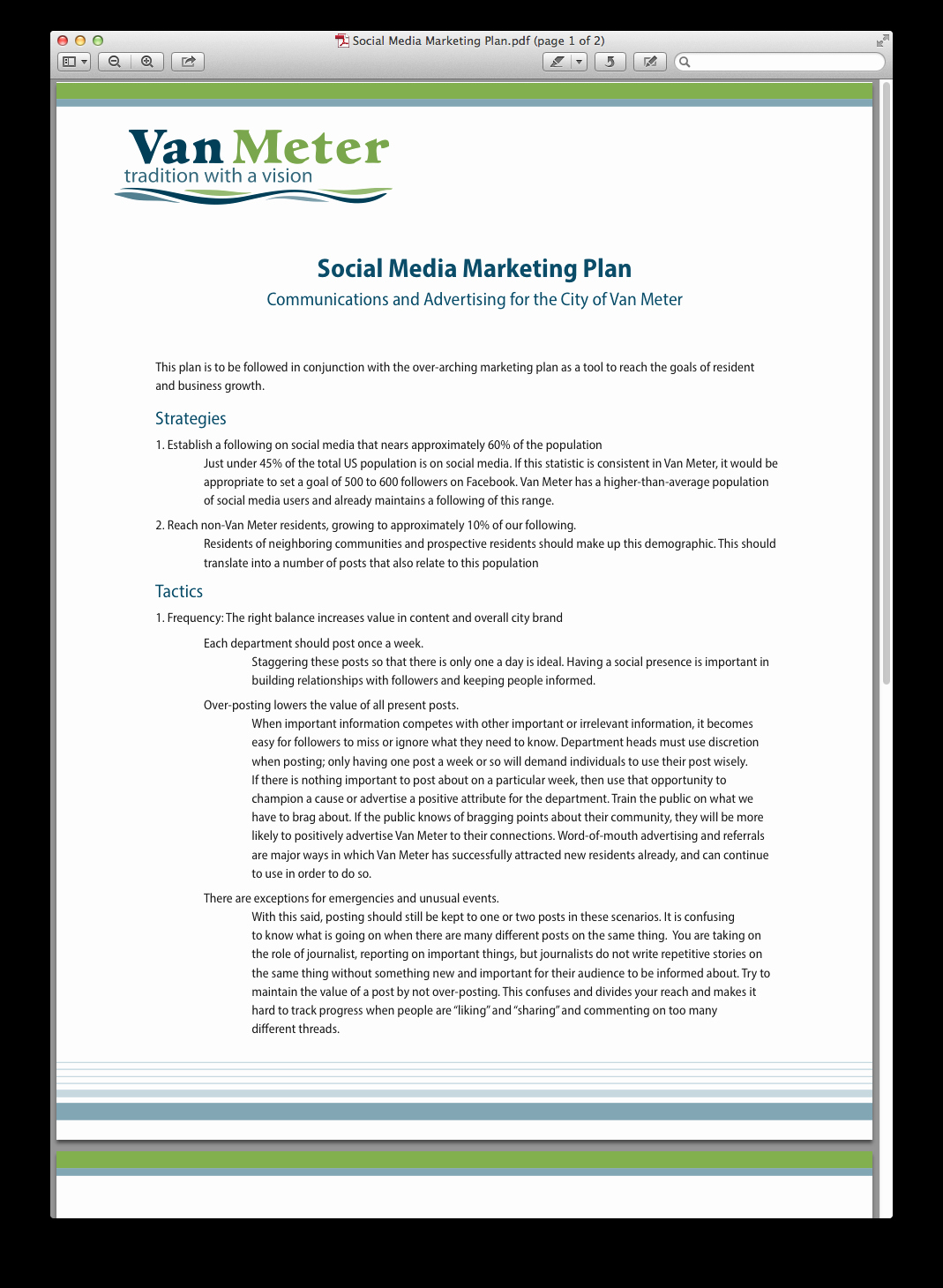 Social Media Marketing Proposal Pdf Lovely Case Study social Media Marketing Plan Pdf social Media