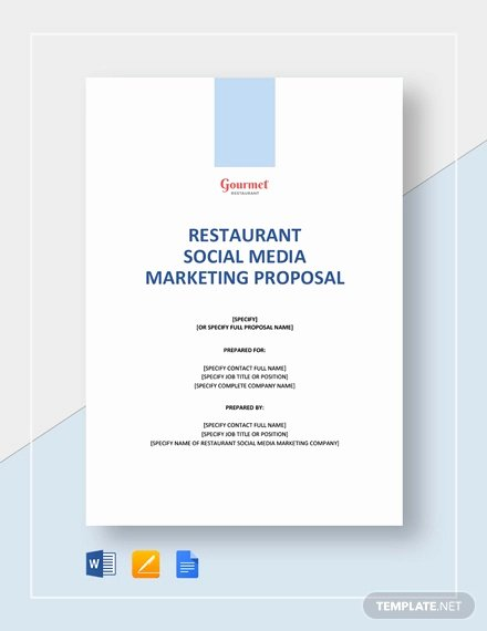 Social Media Marketing Proposal Pdf Unique Free 12 social Media Marketing Proposal Examples & Samples In Pdf Google Docs Pages