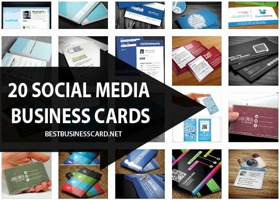 Social Media On Business Card Lovely 17 Best Images About the Business Side Of Things On Pinterest