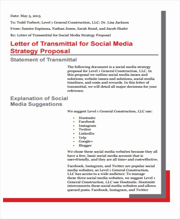 Social Media Proposal Pdf Awesome 13 social Media Proposal Templates Free Word Pdf format Download