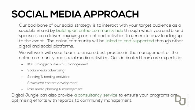 Social Media Proposal Pdf Lovely Search Marketing Jobs Nyc social Media Proposal Sample Pdf
