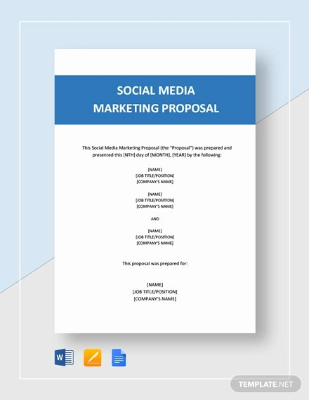 Social Media Proposal Pdf Luxury Free 12 social Media Marketing Proposal Examples & Samples In Pdf Google Docs Pages