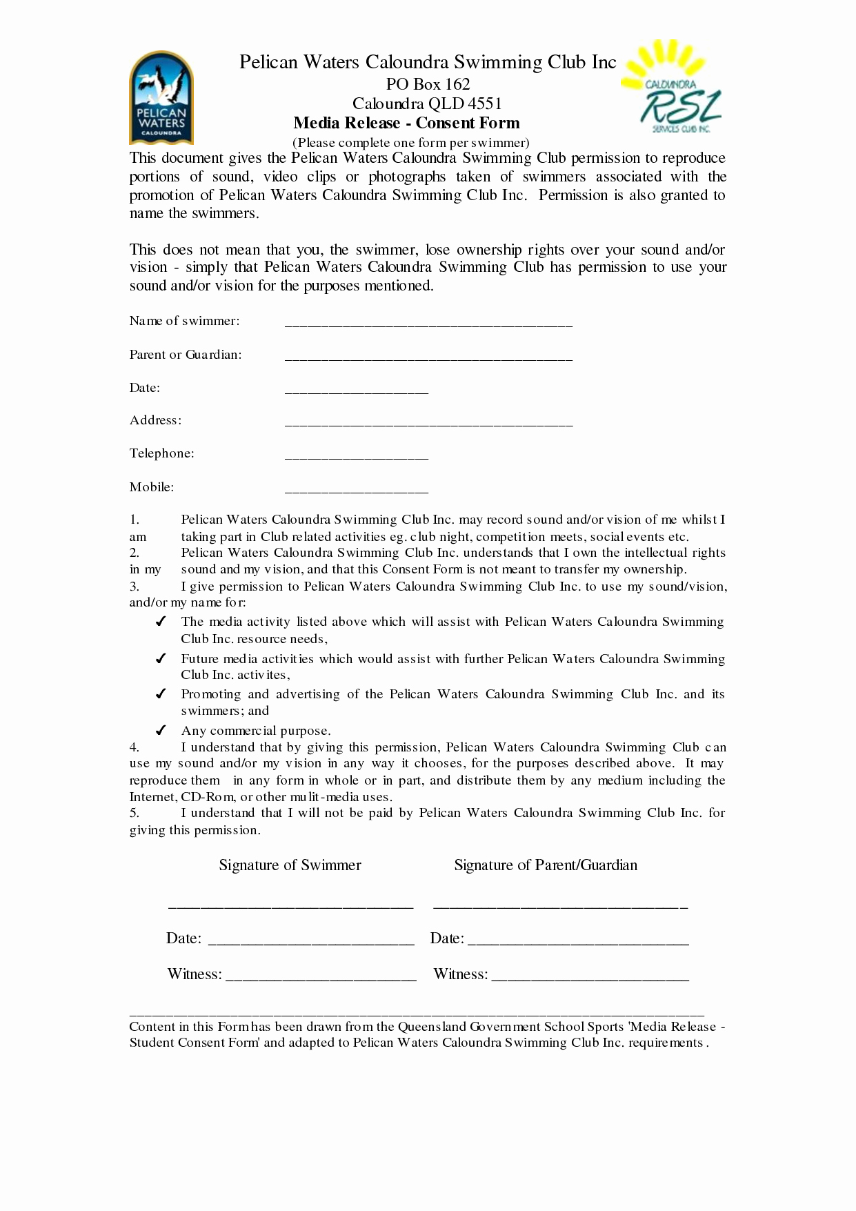 Social Media Release form Beautiful 29 Of social Media Release form Template