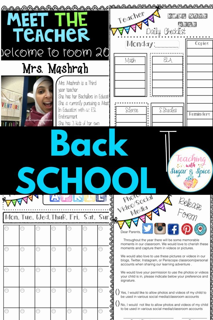 Social Media Release form Elegant Best 25 Teacher Wel E Letters Ideas On Pinterest