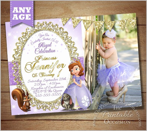 Sofia the First Invitation Templates Luxury 33 Party Invitation Templates Free Psd Vector Eps Ai format Download