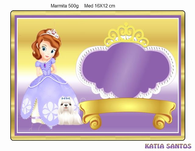 Sofia the First Template Elegant 464 Best sofia the First Scrap Printables Images On Pinterest