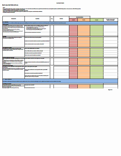 Software Gap Analysis Template Best Of Gap Analysis Template Download Create Edit Fill and Print Wondershare Pdfelement