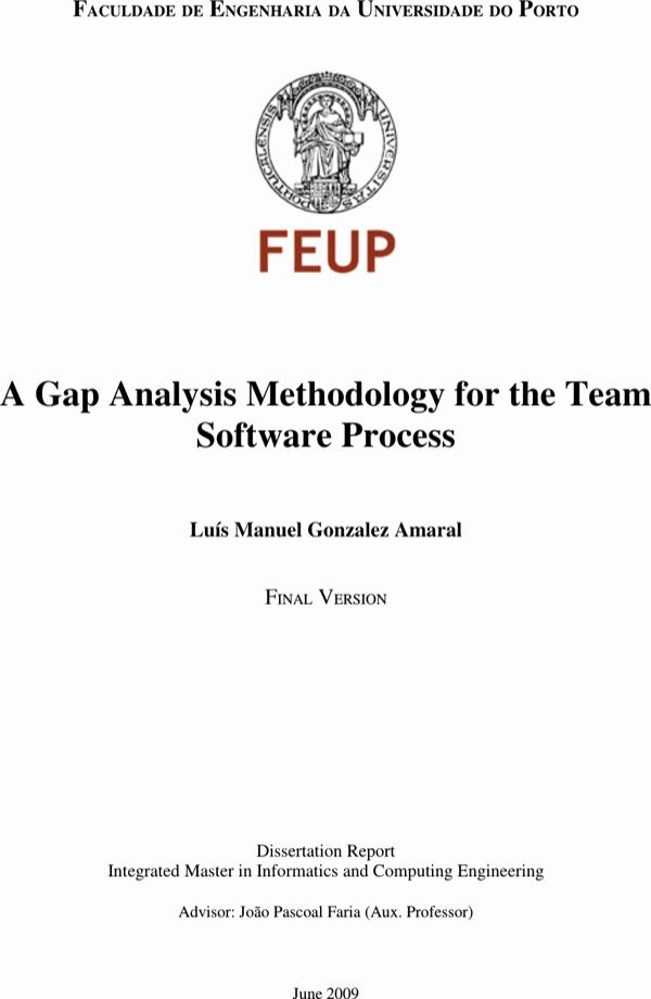 Software Gap Analysis Template Elegant Download software Testing Gap Analysis Template for Free
