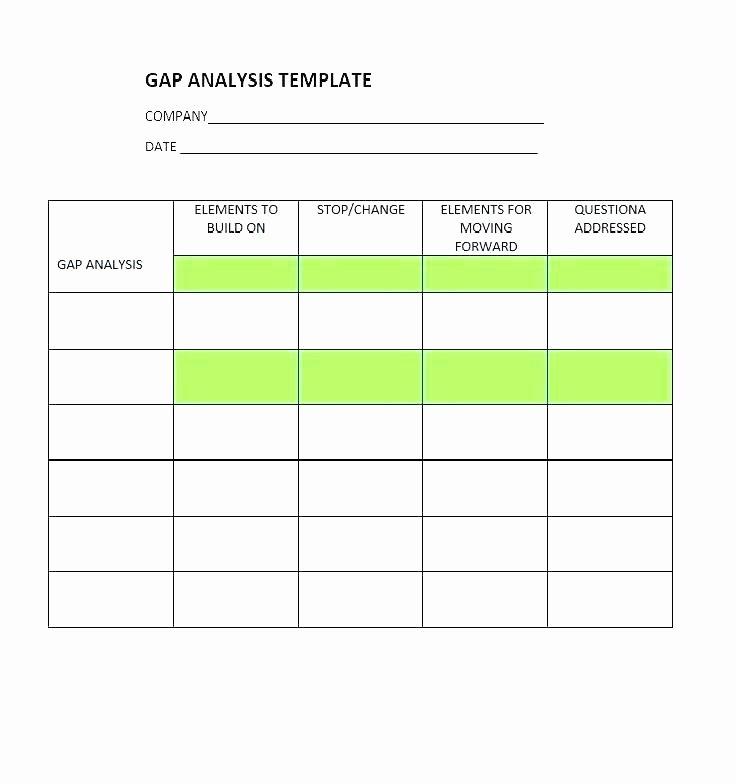 Software Gap Analysis Template Fresh 9 Product Gap Analysis Examples Pdf