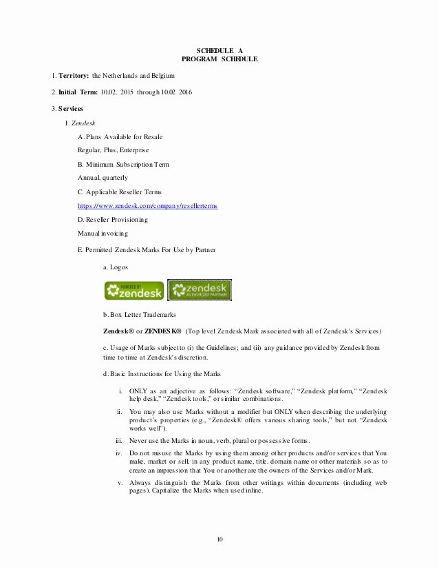 Software Reseller Agreement Template Fresh Authorized Reseller Agreement Template – nowok