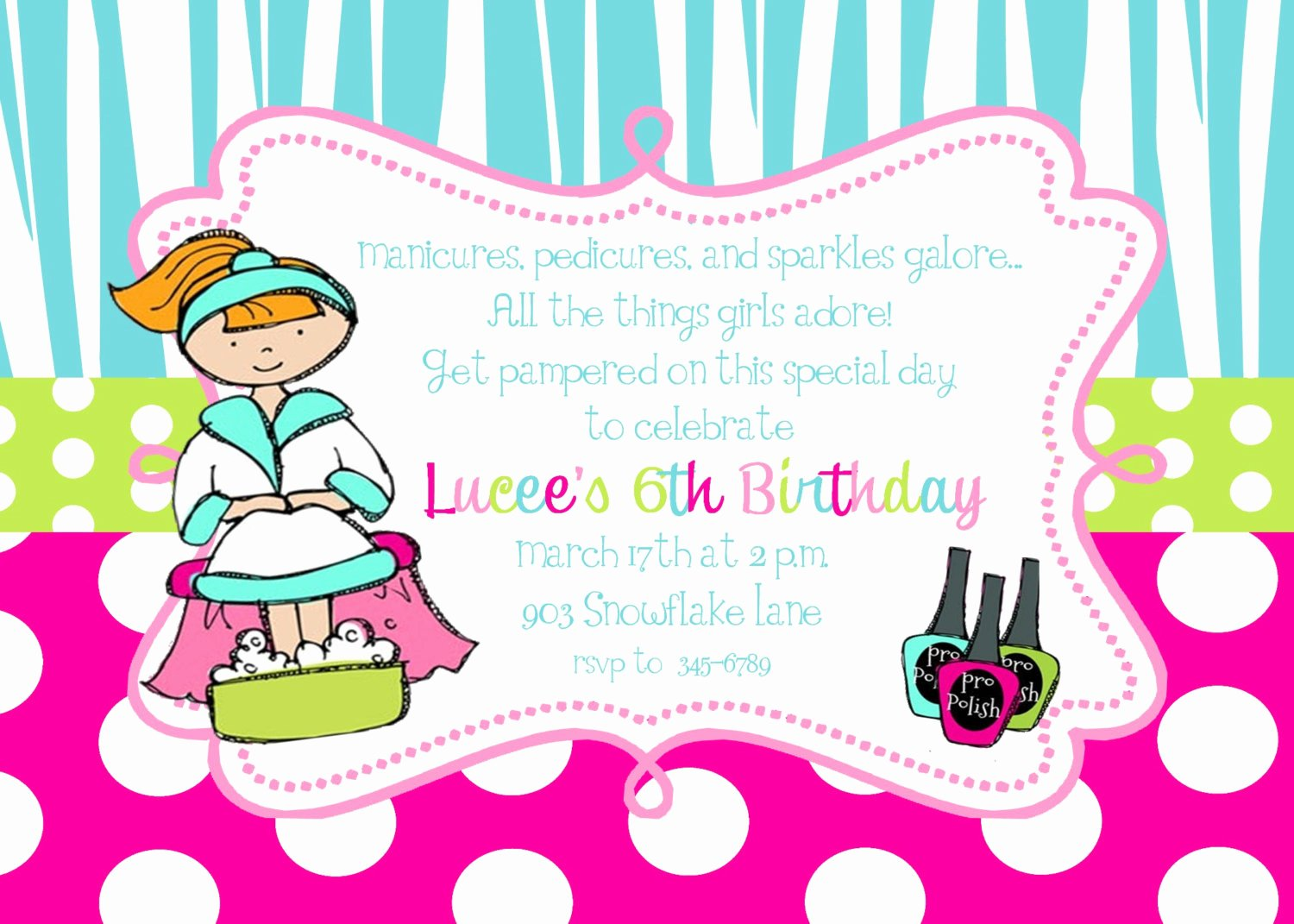 Spa Birthday Party Invitations New 12 Spa Pamper Birthday Party Invitations with Envelopes