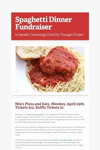 Spaghetti Dinner Fundraiser Flyer Template Beautiful 9 Best Spaghetti Dinner Fundraiser Images On Pinterest