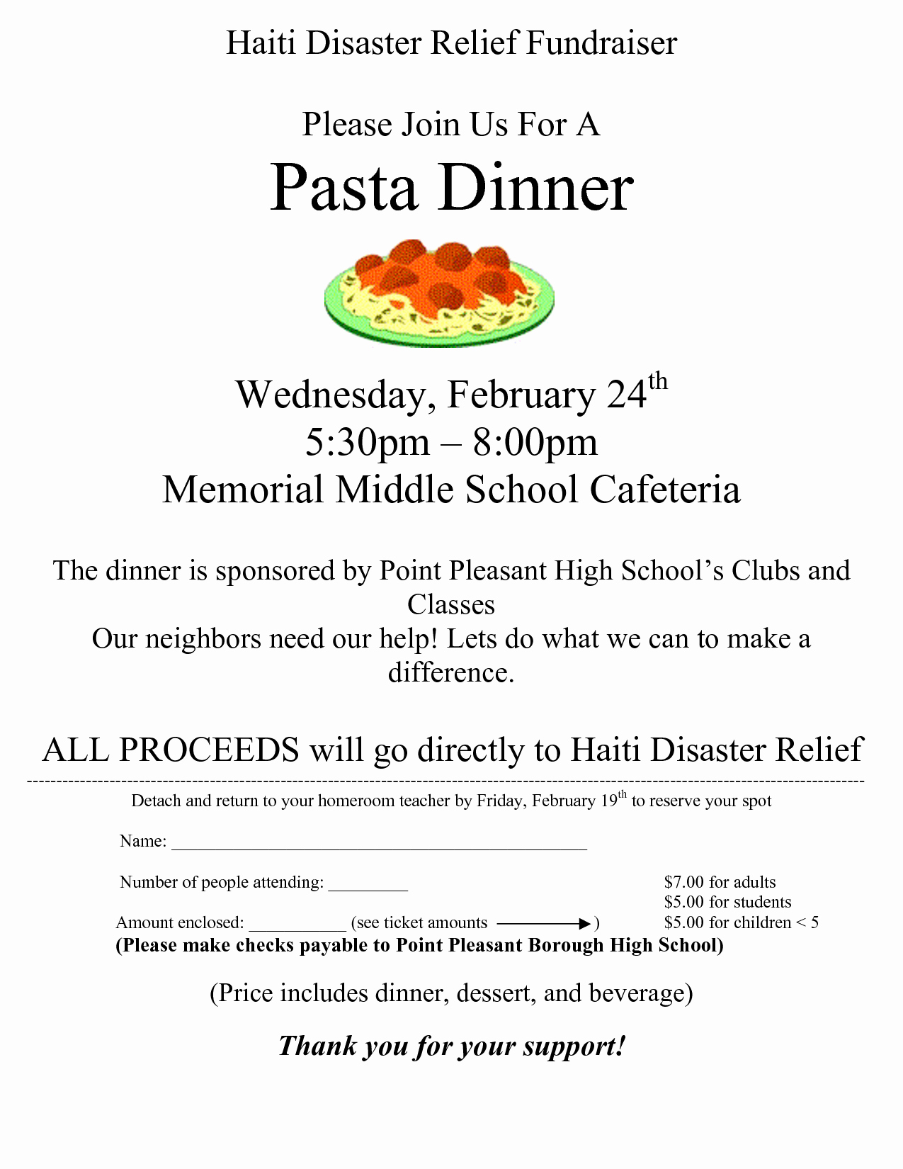 Spaghetti Dinner Fundraiser Flyer Template Fresh 29 Of Spaghetti Dinner Fundraiser Ticket Template