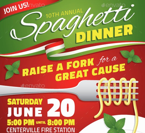 Spaghetti Dinner Fundraiser Flyer Template Lovely 48 Fundraiser Flyer Templates Psd Eps Ai Word