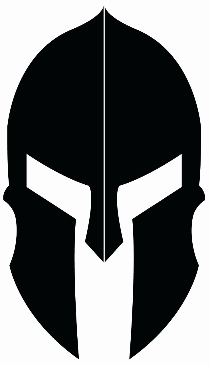 Spartan Race Logo Vector Elegant Logo Design for Spartan Helmet Portfolio Pinterest