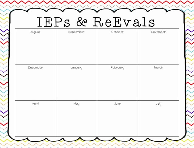 Speech therapy Schedule Template Inspirational A Special Sparkle Back to School 10 Tips for Leading An Iep Meeting