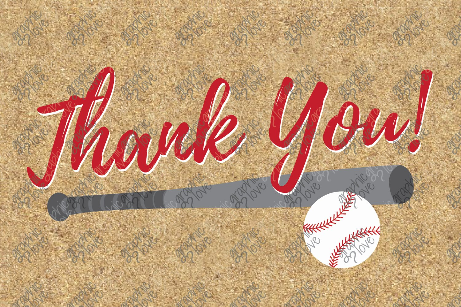 Sports Thank You Cards Unique Printable Baseball 4x6 Thank You Cards Birthday Sports