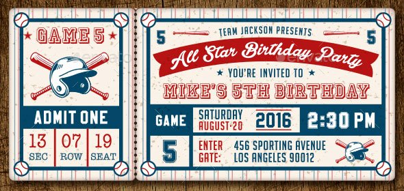 Sports Ticket Invitation Template Free Lovely 25 Awesome Psd Ticket Invitation Design Templates – Bashooka