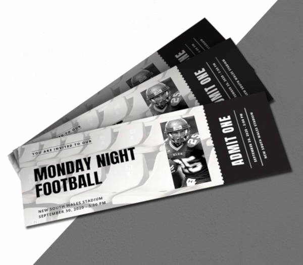 Sports Ticket Invitation Template Free Luxury 17 Sports Ticket Invitation Designs & Templates Psd Ai Word
