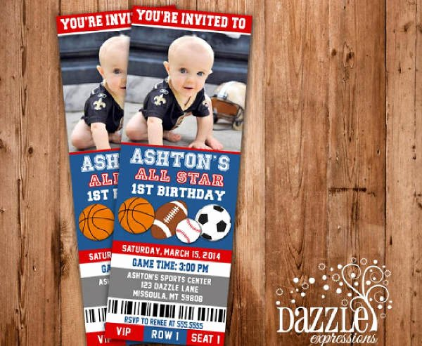 Sports Ticket Invitation Template Free New 25 Sports Ticket Templates Psd Ai Vector Eps