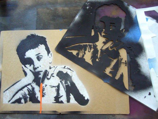 Spray Paint Art Stencils Best Of Creating Plex Spraypaint Stencils by Hand
