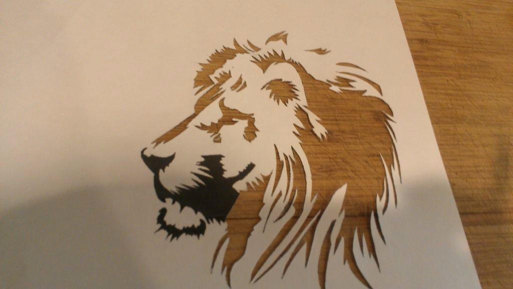 Spray Paint Art Stencils Elegant Spray Paint Stencils 4 Steps with