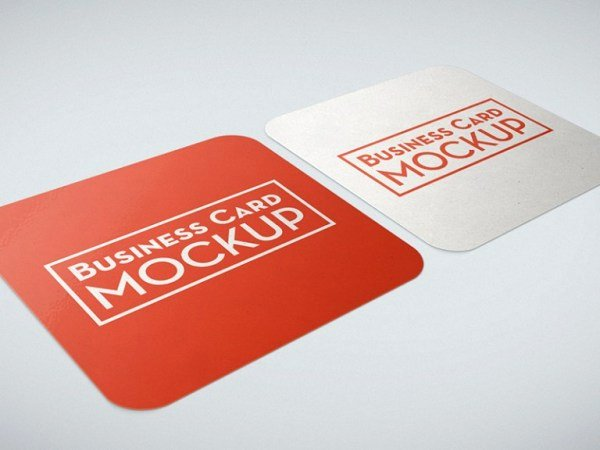 Square Business Card Mockup Luxury 10 Free Square Business Card Mockups Smashfreakz