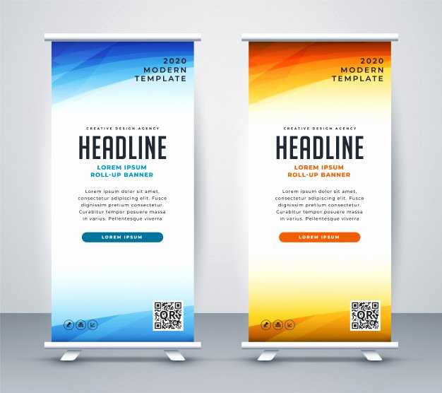 Stand Up Banner Designs Awesome Standing Banner Vectors S and Psd Files