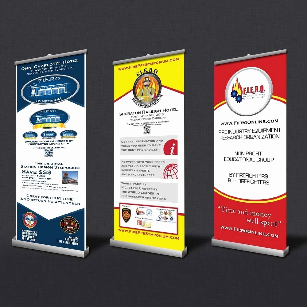 Stand Up Banner Designs Beautiful Trade Show Vertical Banner Design