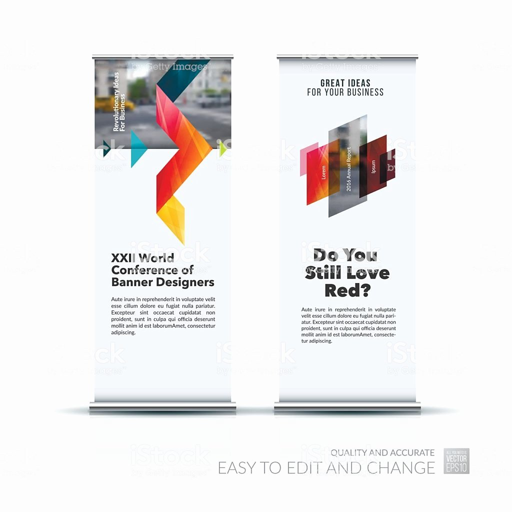 Stand Up Banner Designs Inspirational Vector Set Modern Roll Up Banner Stand Design with Stock Vector Art & More Of