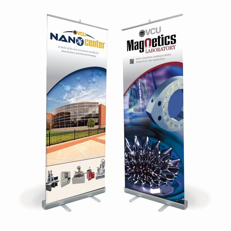 Stand Up Banner Designs Luxury Vcu Nano Center Stand Up Banners Bn Design
