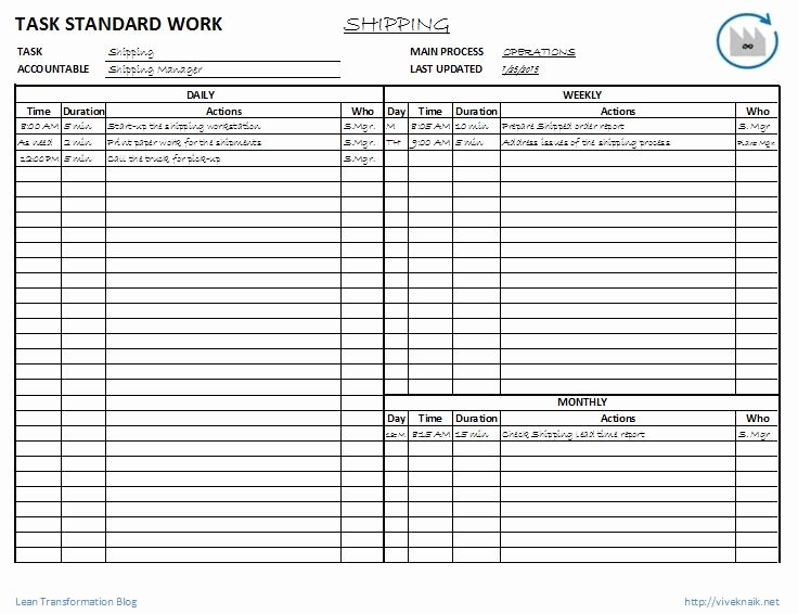 Standard Work Templates Excel Best Of Index Of Cdn 4 2010 926