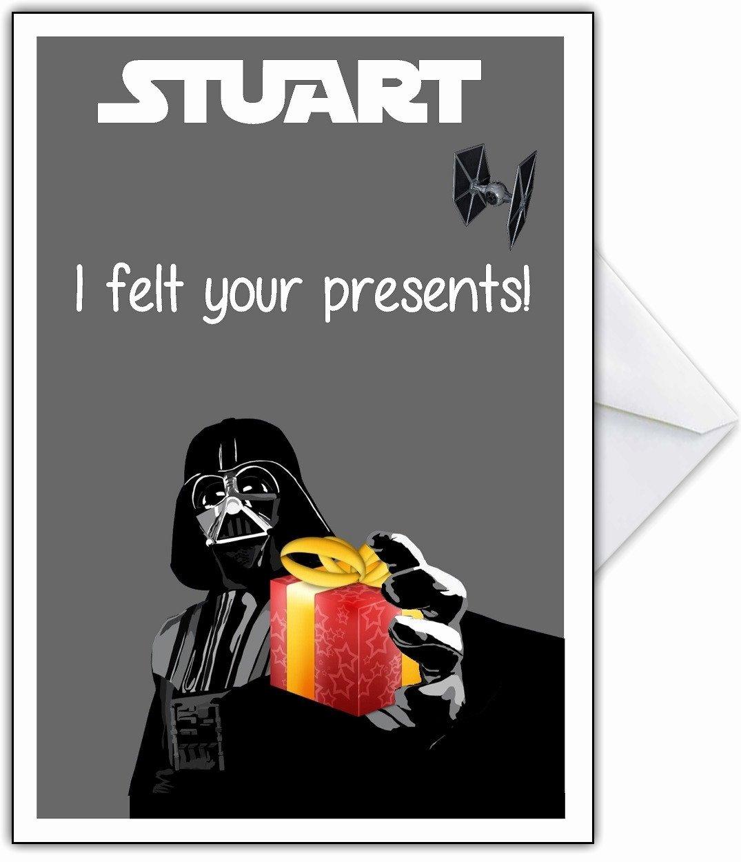 Star Wars Birthday Card Printable Best Of Funny Star Wars Birthday Card – that Card Shop