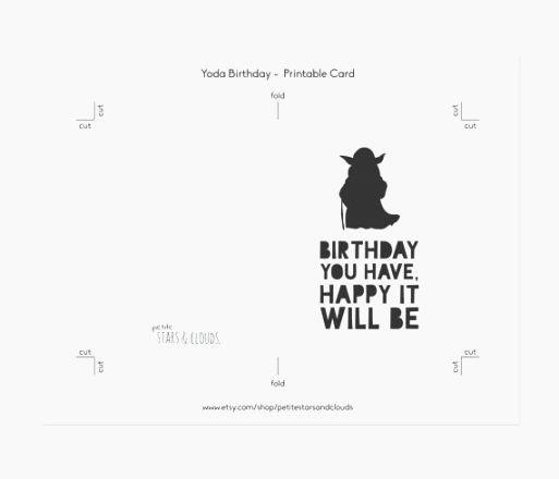 Star Wars Birthday Card Printable Elegant Best Ambitious Printable Star Wars Cards