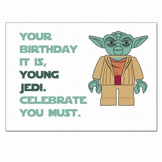 Star Wars Birthday Card Printable Unique Lego Star Wars Birthday Cards and Lego On Pinterest