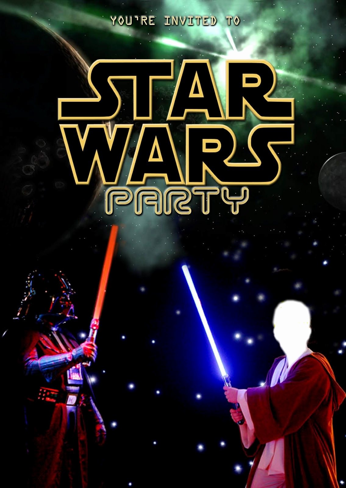 Star Wars Birthday Invite Awesome Free Kids Party Invitations Star Wars Party Invitation New Boy Birthday Parties