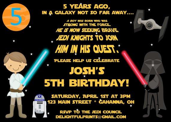 Star Wars Birthday Invite Inspirational Free Star Wars Birthday Promo Invitation Template