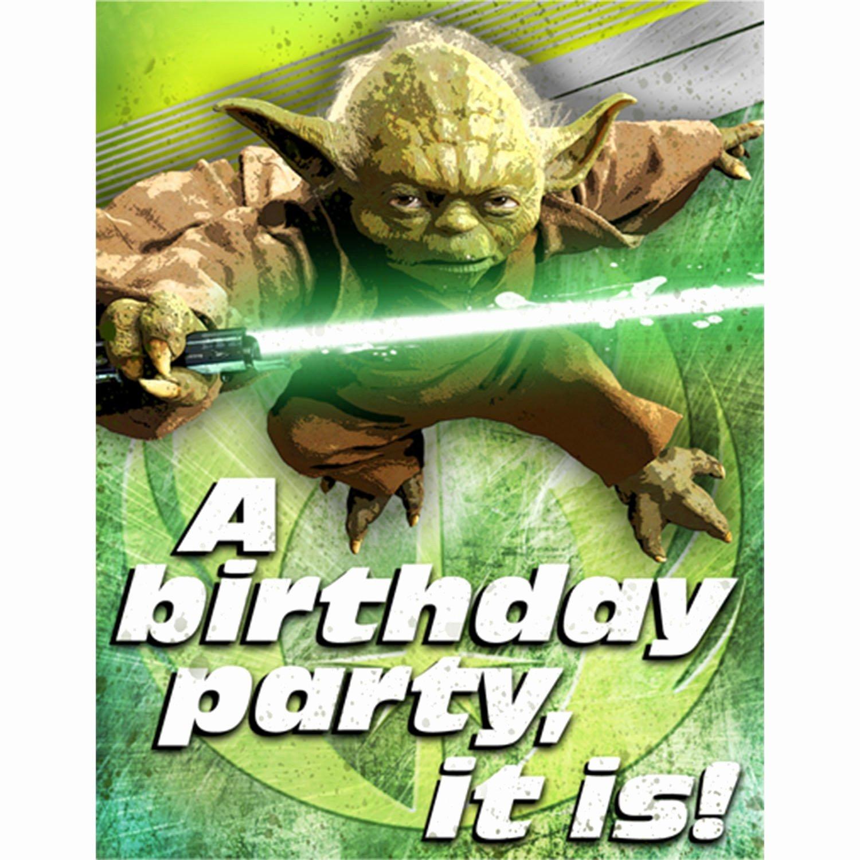 Star Wars Birthday Invite Inspirational Star Wars Birthday Party Invitations