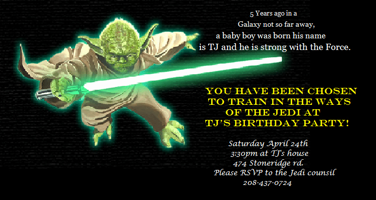 Star Wars Invitation Templates Beautiful Star Wars Party Invitation Download