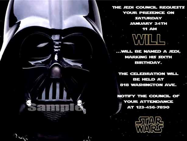 Star Wars Party Invitation Elegant the Best Star Wars Birthday Invitations by A Pro Party Planner