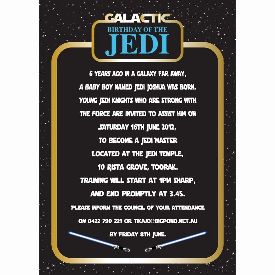 Star Wars Party Invitations Elegant Invitation Star Wars