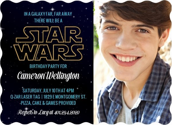 Stars Wars Birthday Invitations Best Of Star Wars Birthday Party Ideas Invitations Activities Crafts Diy