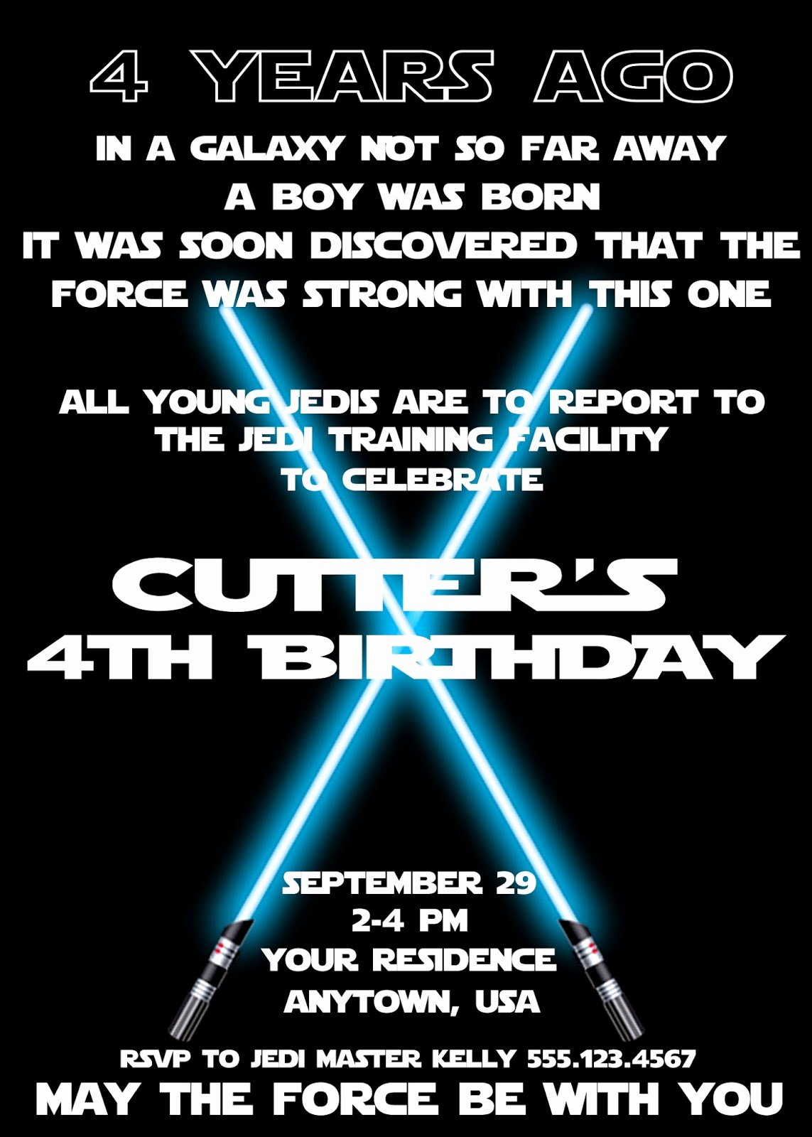 Stars Wars Birthday Invitations Elegant Plan An Amazing Star Wars Birthday Party