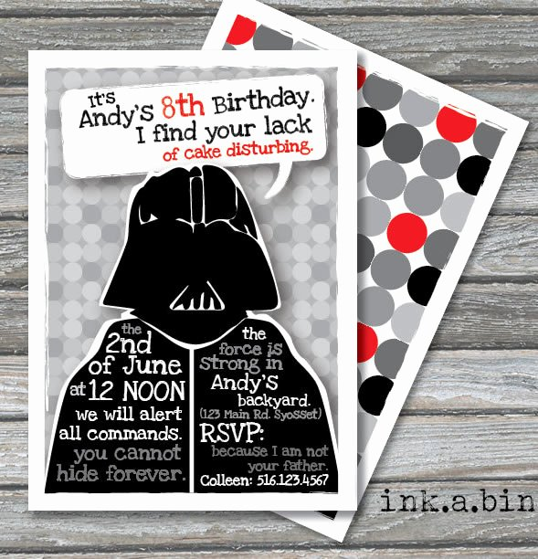Stars Wars Birthday Invitations New Star Wars Birthday Party Ideas by A Professional Party Planner